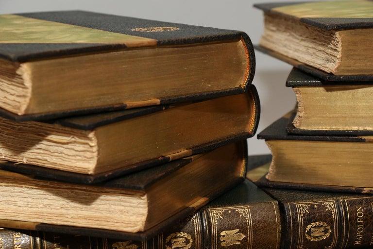Dyed Books, William Hazlitt, Madame Junot, & Louis Bourrienne's