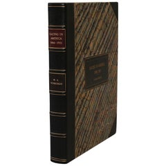 "Books, W.S. Vosburg's ""Racing in America 1866-1921"""