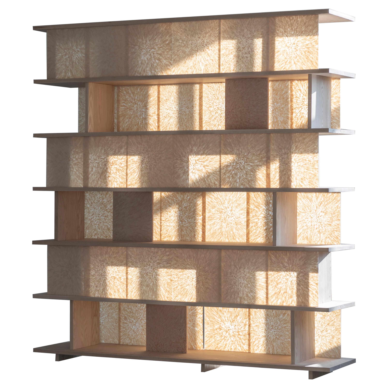 Bookshelf by Vlasta Kubusova