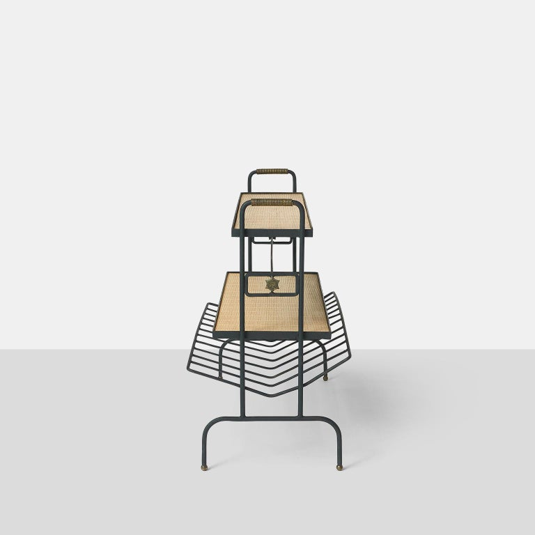 Mid-20th Century Bookstand by Jacques Adnet For Sale