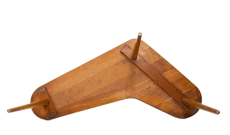 Mid-Century Modern Boomerang Coffee Table 1950s Dutch For Sale