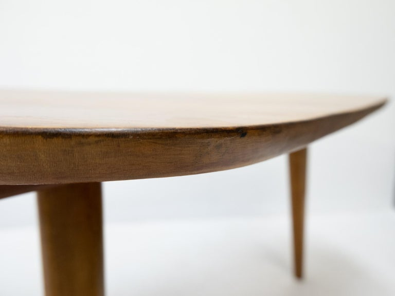 Boomerang Coffee Table 1950s Dutch In Good Condition For Sale In Den Haag, NL