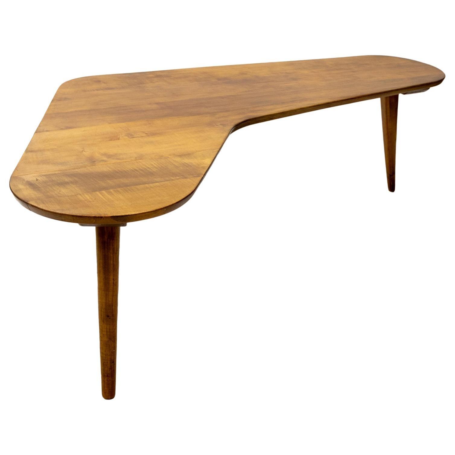 Boomerang Coffee Table 1950s Dutch