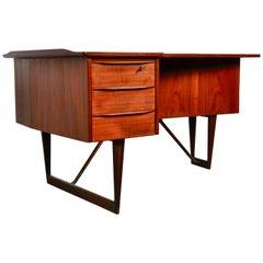 Boomerang Desk by Peter Løvig Nielsen for Løvig, 1950s