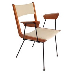 Boomerang Desk Chair by Carlo Ratti, 1950s