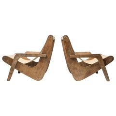 Boomerang Lounge Chairs by Zanine Caldas