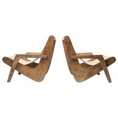 Boomerang Lounge Chairs by Zanine Caldas