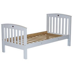 Boori Country Collection White Painted Pine Single Children's Bed Frame