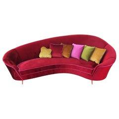 Bora Bora Velvet Sofa