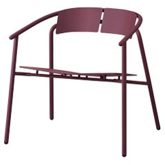 Bordeaux Minimalist Lounge Chair