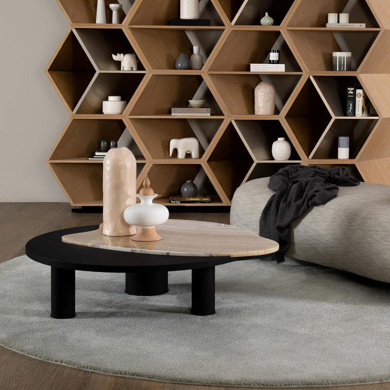 21st Century Modern Bordeira Coffee Table Handcrafted Portugal by Greenapple  For Sale 5