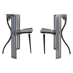 Bořek Šípek Ota Otanak Chairs, Vitra, 1980s