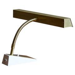 Boréns, Table Lamp, Brass, Lacquered metal, Borås, Sweden, 1960s