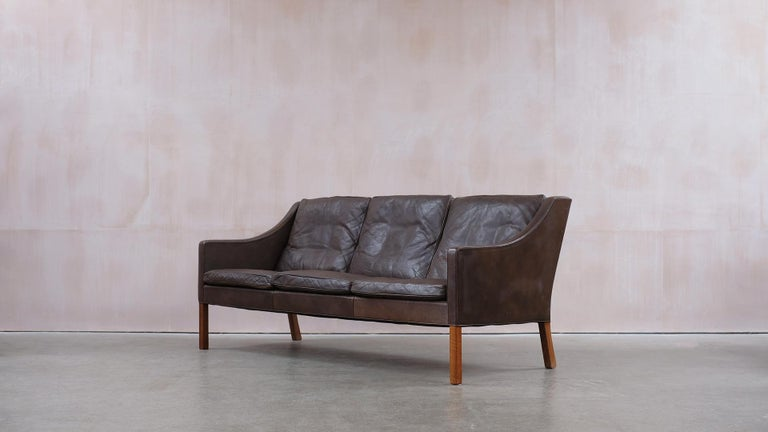 Danish Børge Mogensen 2209 Sofa For Sale
