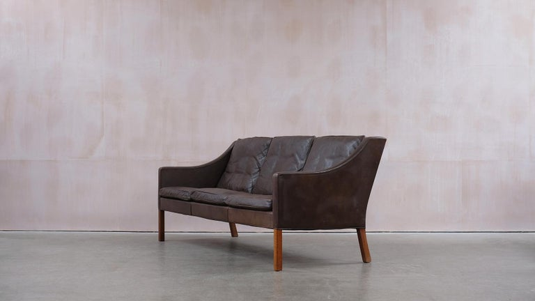 Børge Mogensen 2209 Sofa In Good Condition For Sale In Epperstone, Nottinghamshire