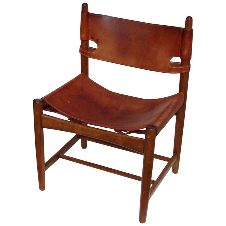 Borge Mogensen Chair Early Productioin For Sale