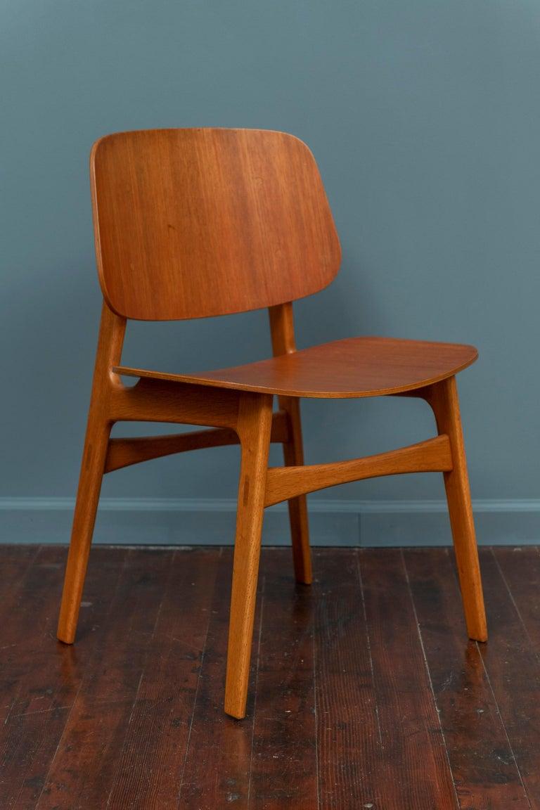 Scandinavian Modern Børge Mogensen Chair for Søborg Møbelfabrik For Sale