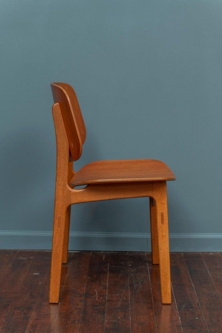 Børge Mogensen Chair for Søborg Møbelfabrik In Good Condition For Sale In San Francisco, CA