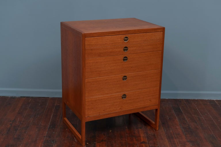 Scandinavian Modern Borge Mogensen Chest of Drawers for P. Lauritsen and Son For Sale