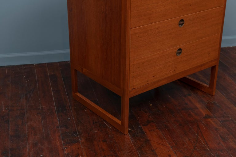 Danish Borge Mogensen Chest of Drawers for P. Lauritsen and Son For Sale