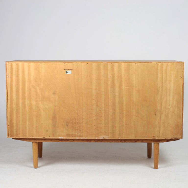 Borge Mogensen Chest of Drawers Oak and Teak For Sale 7