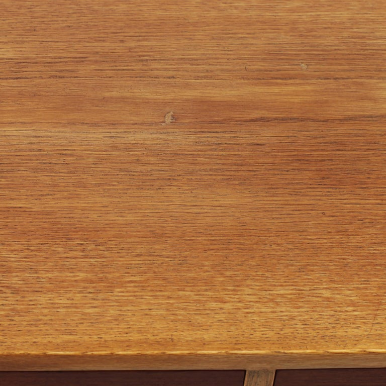 Borge Mogensen Chest of Drawers Oak and Teak For Sale 12