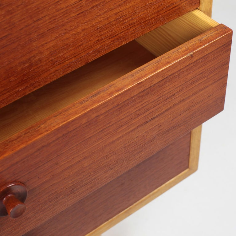 Borge Mogensen Chest of Drawers Oak and Teak For Sale 1