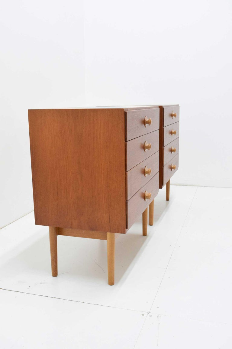 Mid-Century Modern Borge Mogensen Chests of Drawers, 1960s For Sale