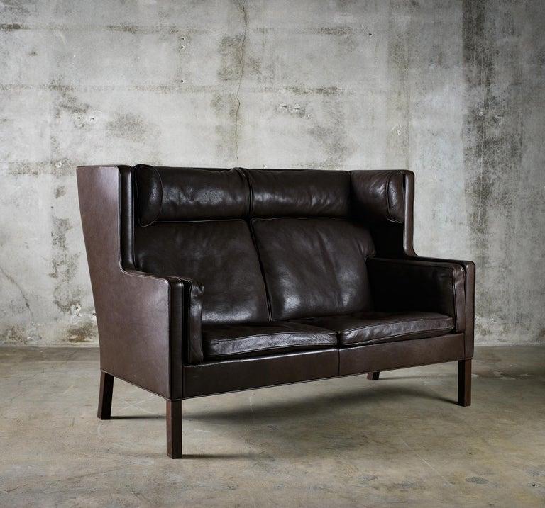 Danish Borge Mogensen 'Coupe' Sofa For Sale