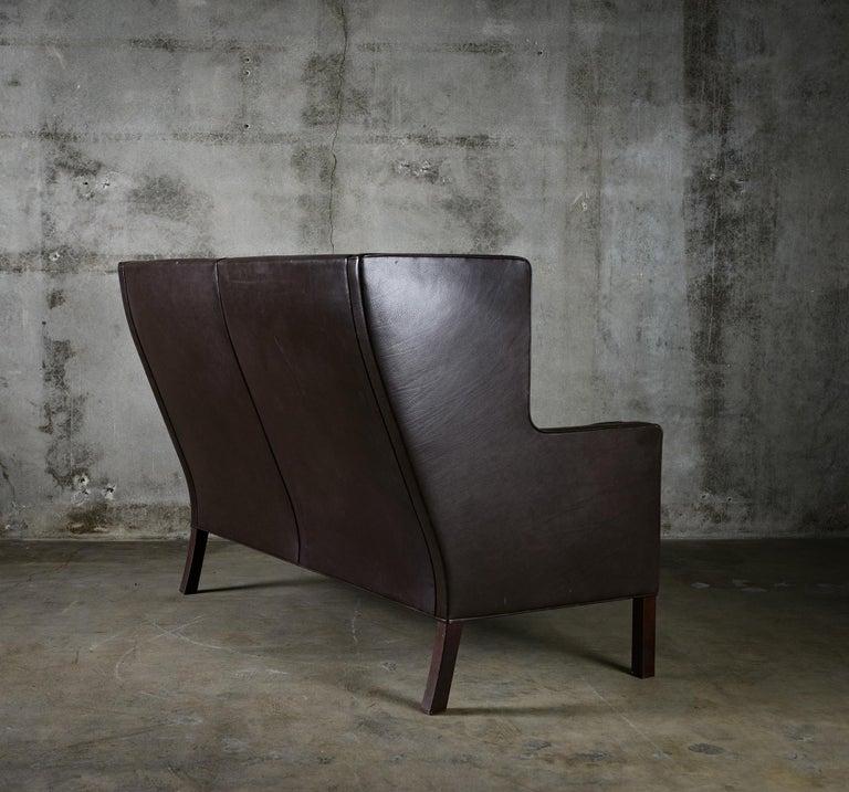 20th Century Borge Mogensen 'Coupe' Sofa For Sale
