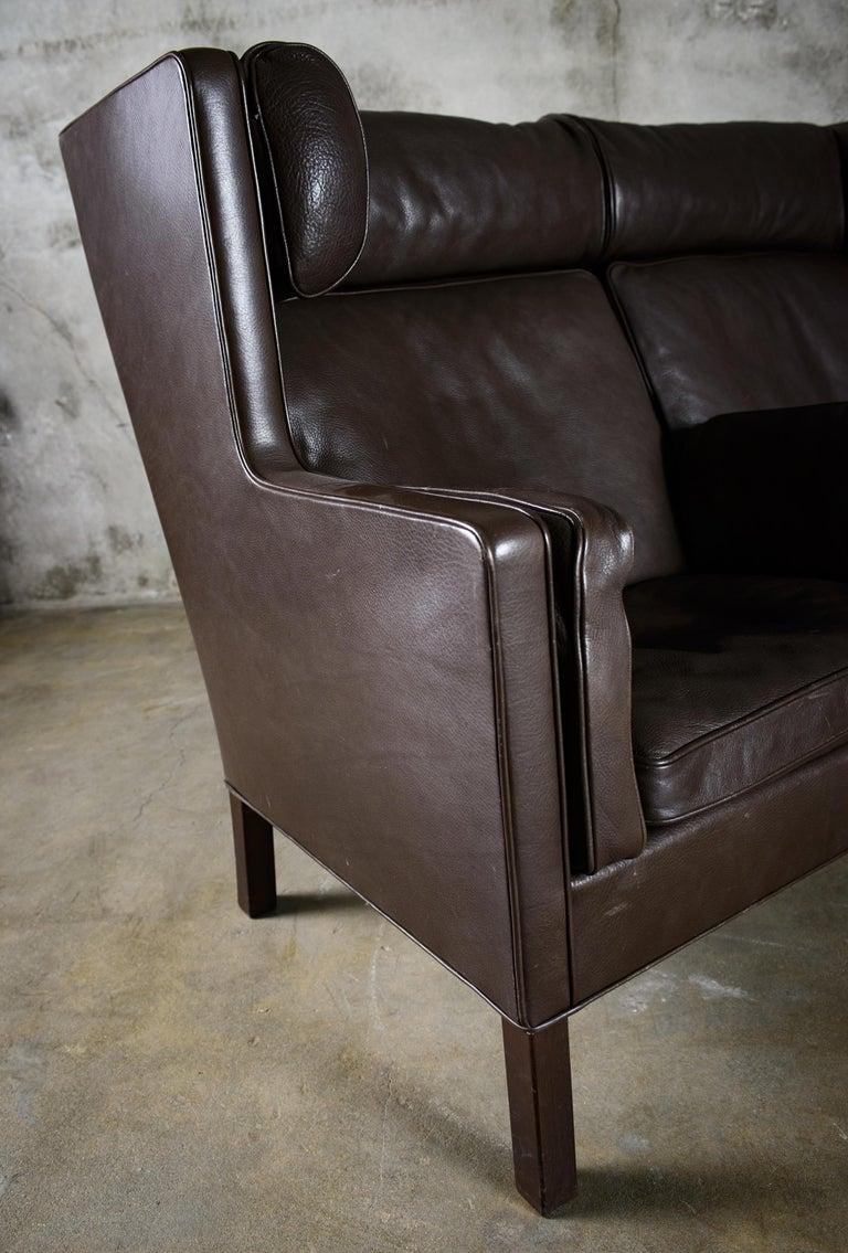 Borge Mogensen 'Coupe' Sofa For Sale 2