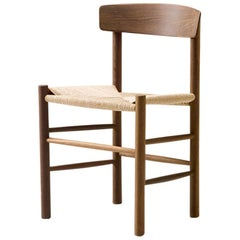 Borge Mogensen J39 Dining Chair, Smoked Oak