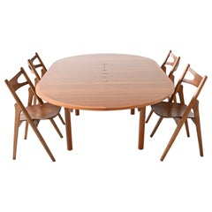 Borge Mogensen Model 140 Dining Table Karl Andersson, Denmark, 1955