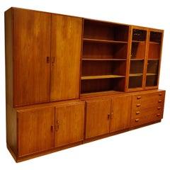 Borge Mogensen Modular Cabinets for Soborg Mobelfabrik, 1960s