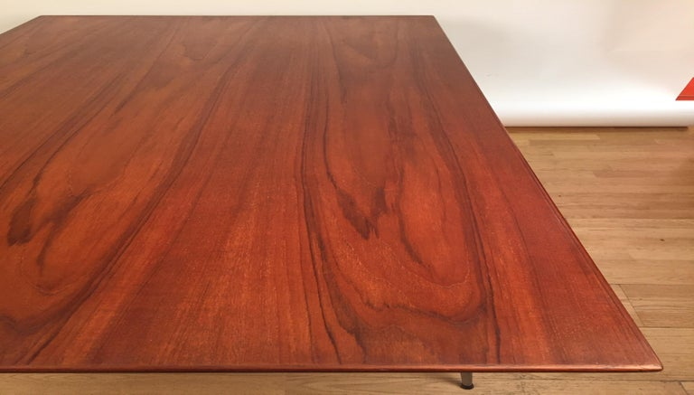 Danish Borge Mogensen Rectangular Teak Dining/Work Table, 1956 For Sale
