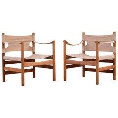 Borge Mogensen Safari Chairs