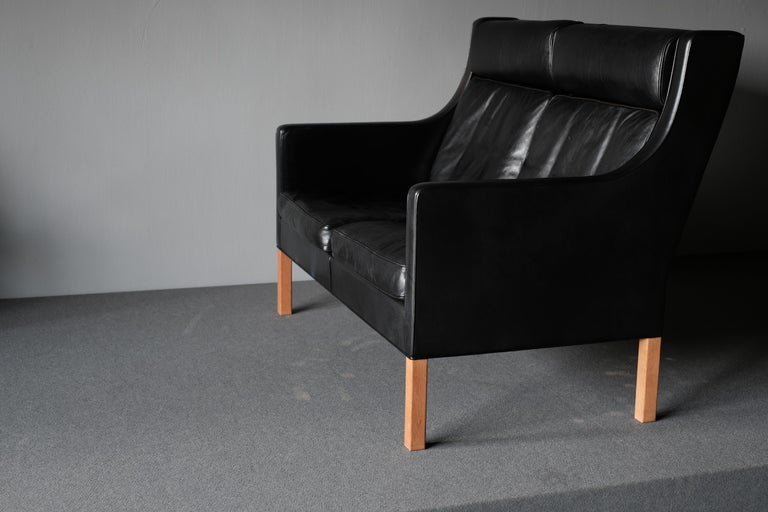 Borge Mogensen, Sofa, Midcentury In Good Condition For Sale In Singapore, SG
