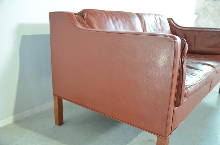 Borge Mogensen two-seat Sofa Model 2212 for Fredericia Danmark For Sale 3