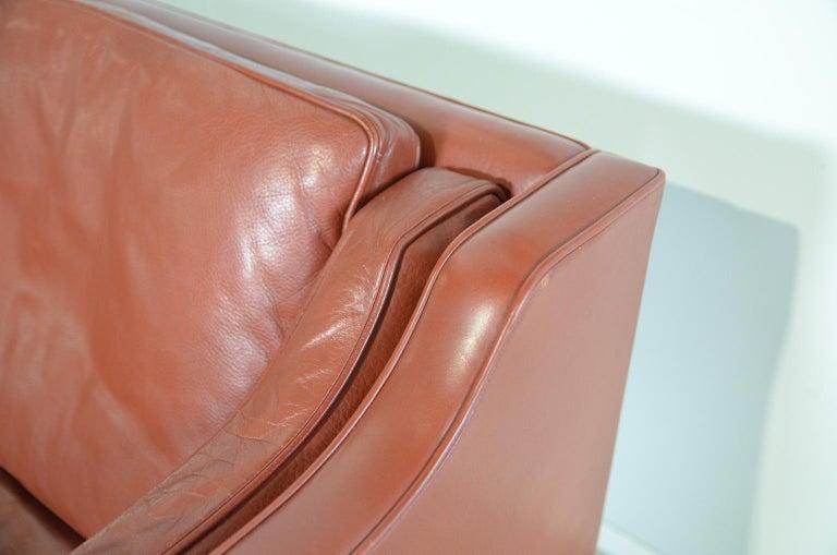 Mid-20th Century Borge Mogensen two-seat Sofa Model 2212 for Fredericia Danmark For Sale
