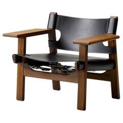 Borge Mogensen Spanish Chair, Black