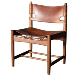 "Borge Mogensen ""Spanish Dining Chair"", Midcentury"