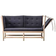 Borge Mogensen Spoke Back Sofa, Leather