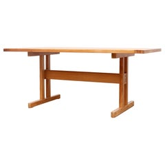Borge Mogensen Style Pine Dining Table