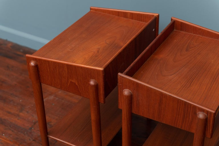 Mid-20th Century Borge Mogensen Teak Nightstands For Sale