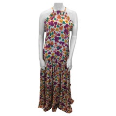 Borgo De Nor Floral Maxi Dress