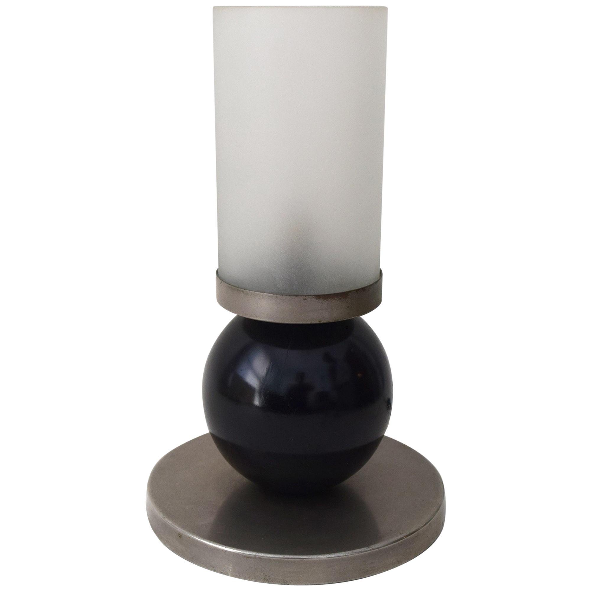 Boris Lacroix 1930s Modernist Lamp