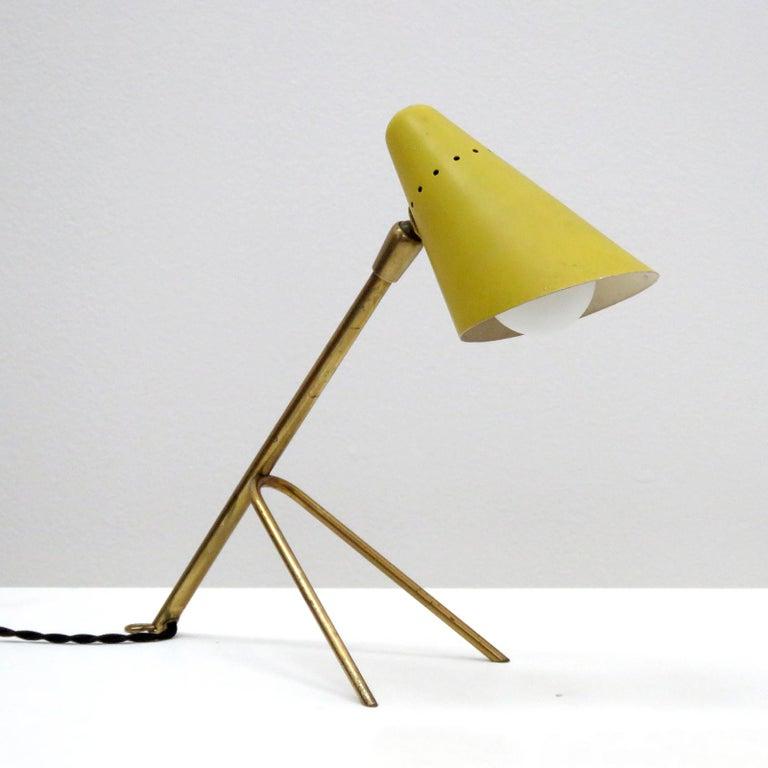 Mid-Century Modern Boris Lacroix Table Lamp, 1950 For Sale