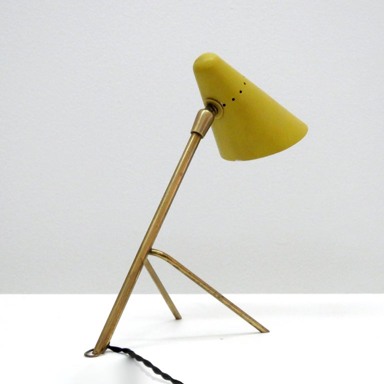 Boris Lacroix Table Lamp, 1950 In Good Condition For Sale In Los Angeles, CA