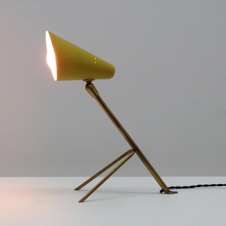 Boris Lacroix Table Lamp, 1950 For Sale 2