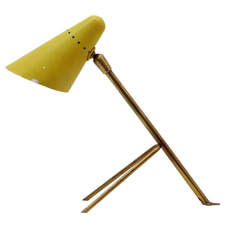 Boris Lacroix Table Lamp, 1950 For Sale